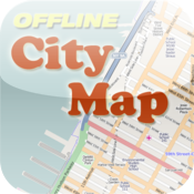 Copenhagen Offline City Map with POI